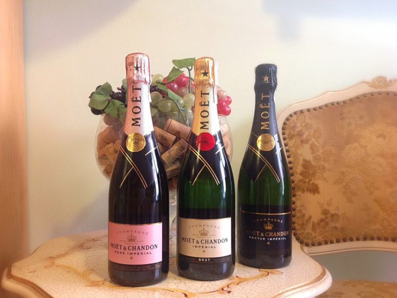 Moet & Chandon Rose Imperial Sparkling Wine Champagne, France